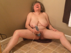 Šílený orgasmus staré babičky